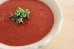 Grounding Pumpkin And Beetroot Soup