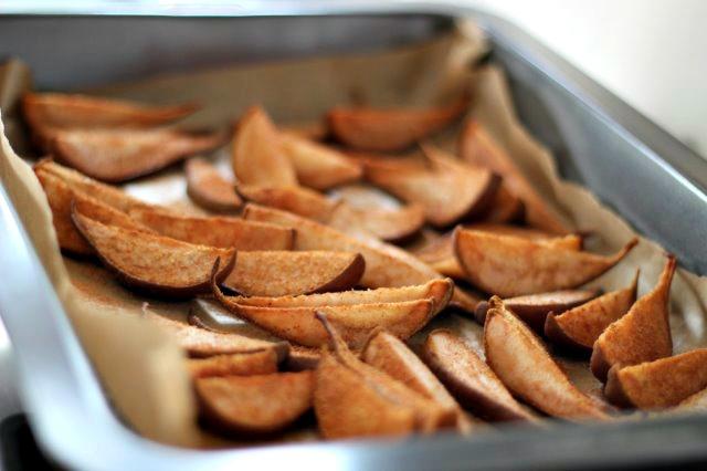 Chia - Baked pears